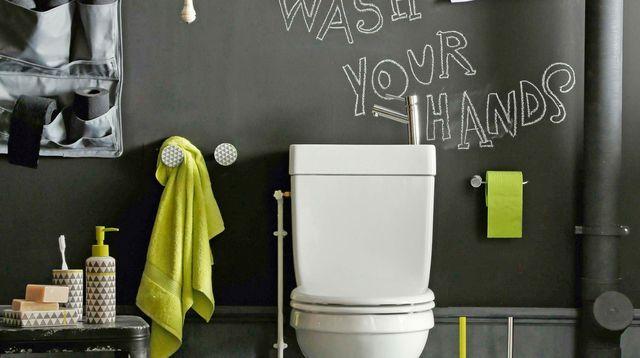 D co wc moderne et tendance d co for Decoration wc tendance