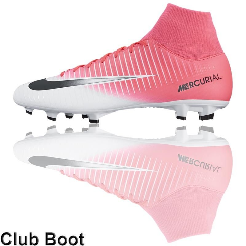 ed1e3eede49c Football Nation - Nike Mercurial Victory VI Dynamic Fit Boots (FG - Racer  Pink/