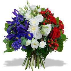 Bouquet Bleu Blanc Rouge Bouquet Bleu Bleu Blanc Rouge