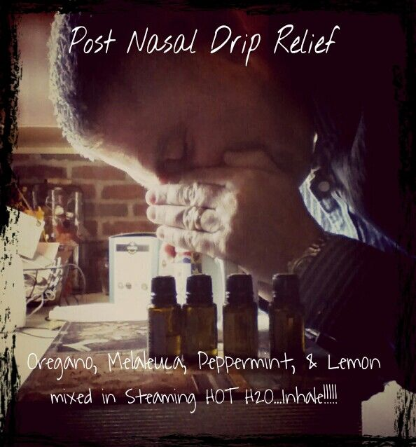 Post nasal drip relief