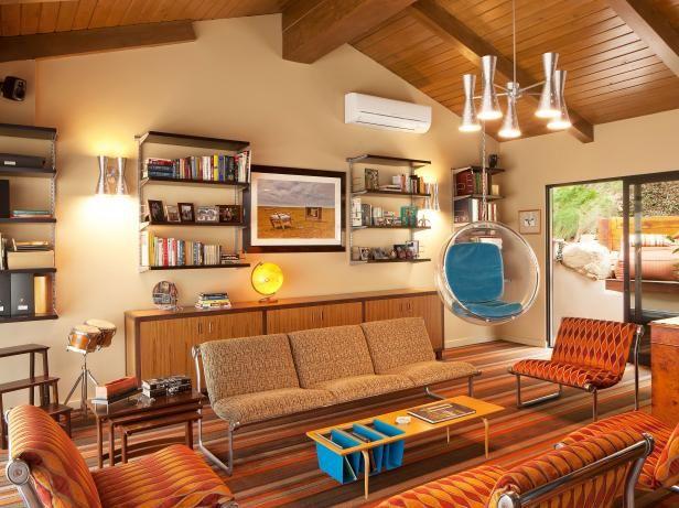 BeforeandAfter Garage Remodels Game Rooms Hgtv And Apartment New Retro Modern Living Room Remodelling