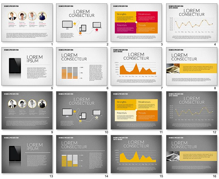 Design Presentation Template - Google Search | Ppt Templates