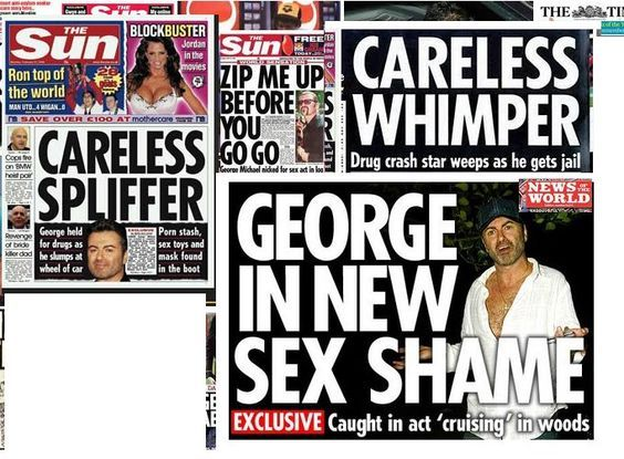 George michael had sex in the woods