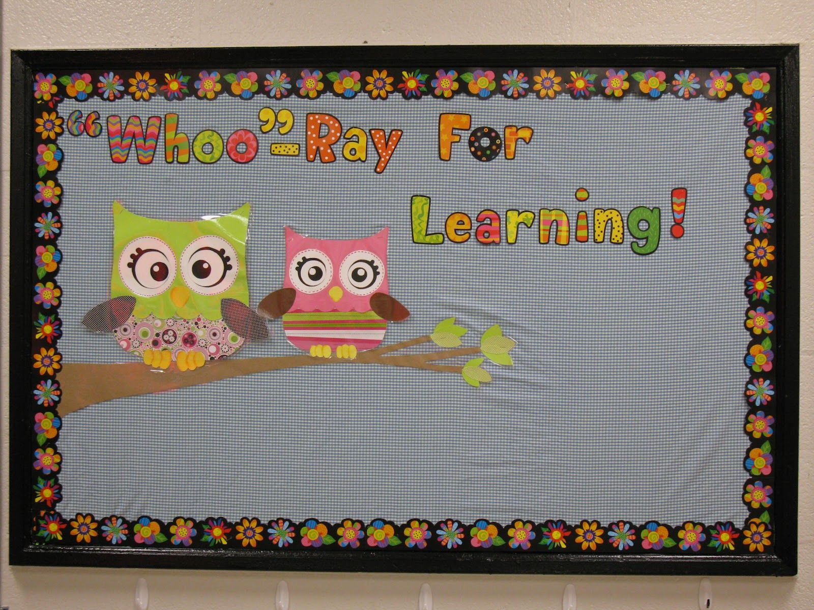 owl bulletin board and decorating ideas for classroom