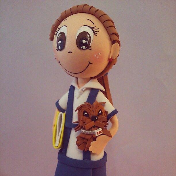 #lasueladetusbotas #fofucha #colegiala #niña #perro #estudiante
