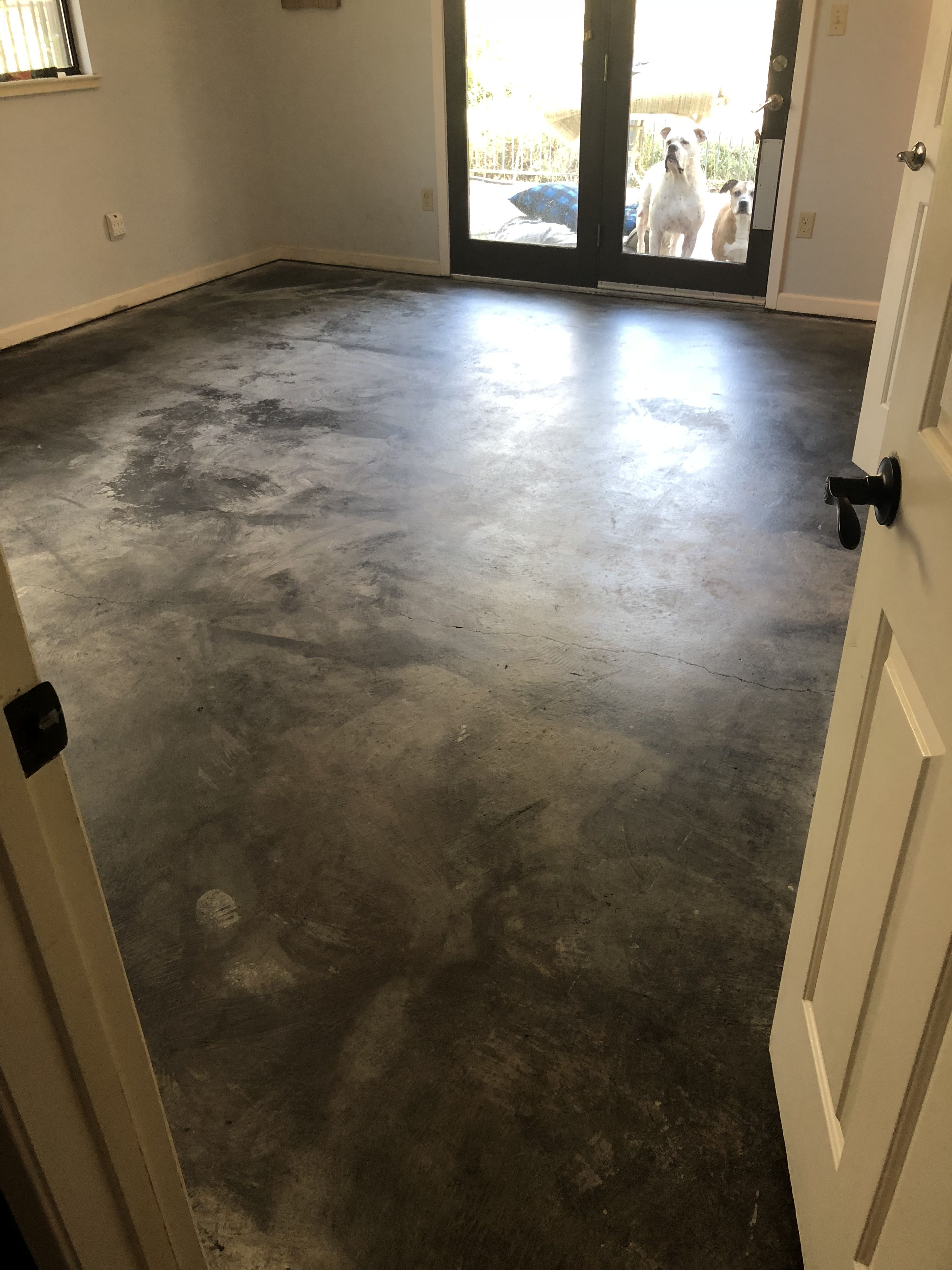 Charcoal Water Based Concrete Stain