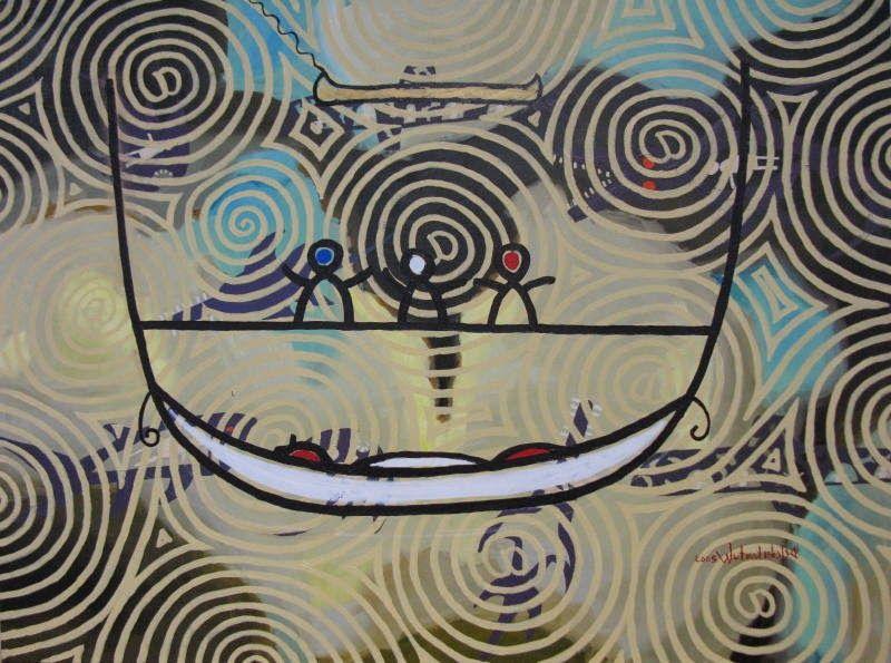 Vademécum: Sobre hamacas y canoas, y el olor a tierra mojada