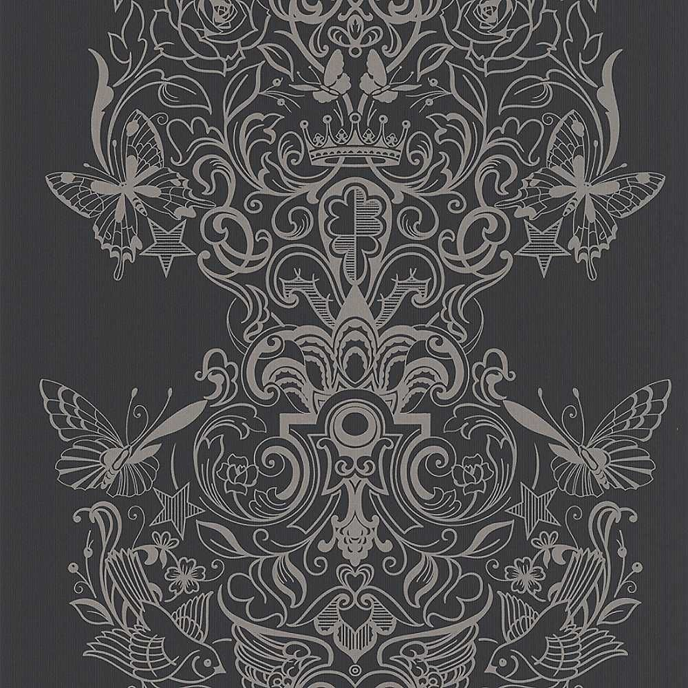 laurence llewelyn bowen wallpaper | ... /products/Laurence-Llewelyn-Bowen -Sinbad-Wallpaper---Grey/_/A-91B326
