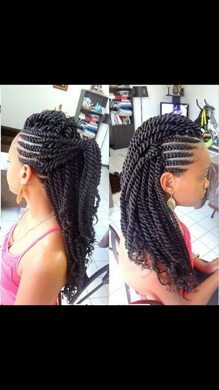 Love these twists braids u twists pinterest