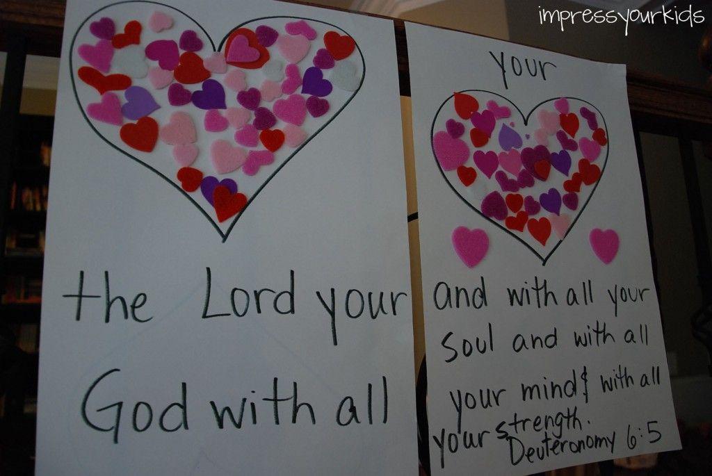 Incredible Love Bible School Crafts Sunday School Crafts
