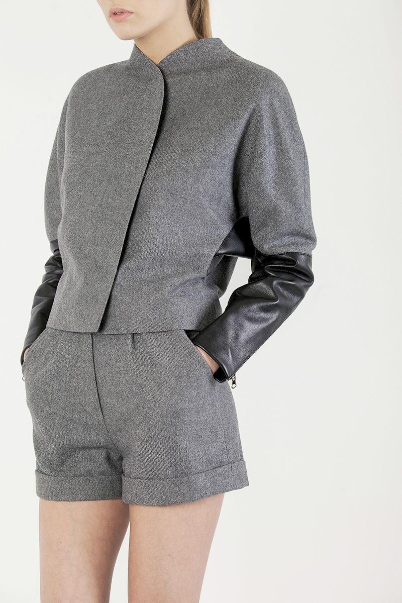Bomber Jacket+Shorts