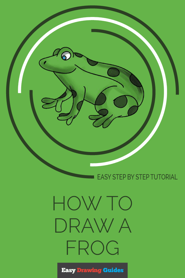 How to Draw a Frog in a Few Easy Steps | Easy Drawing ...