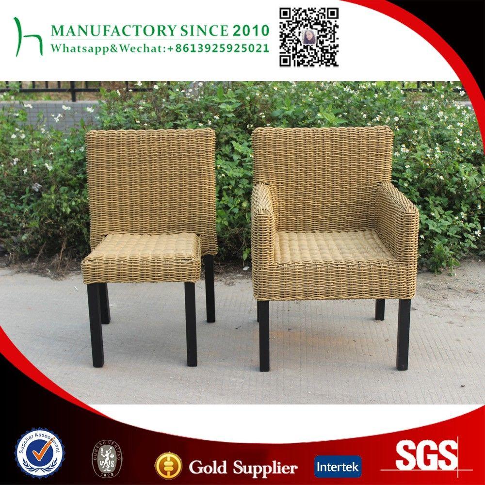 Nuevo diseño de silla de mimbre al aire libre muebles de China ...