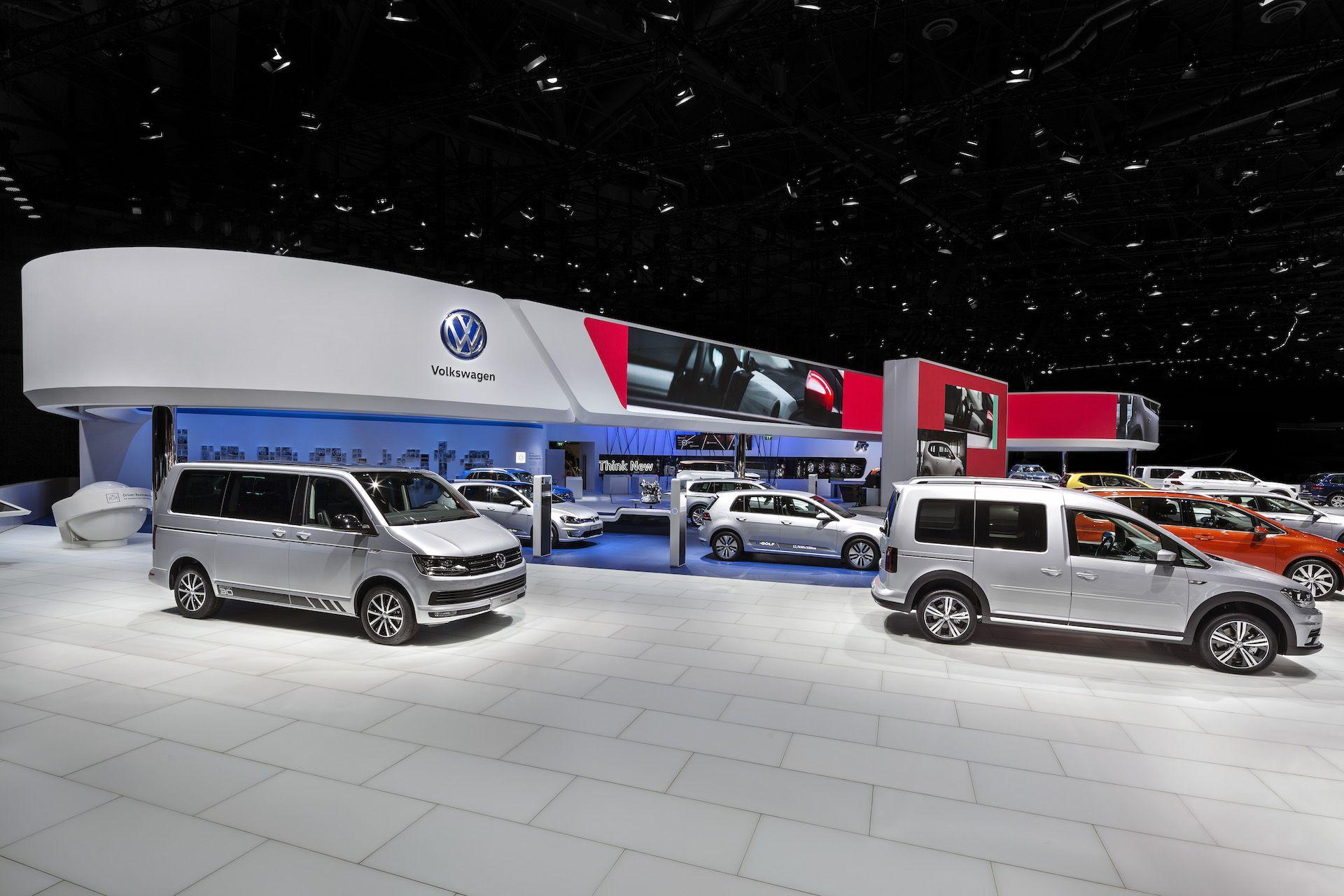 Volkswagen Internationaler Autosalon Genf 2016 Messeauftritt Messeauftritt Volkswagen Messe