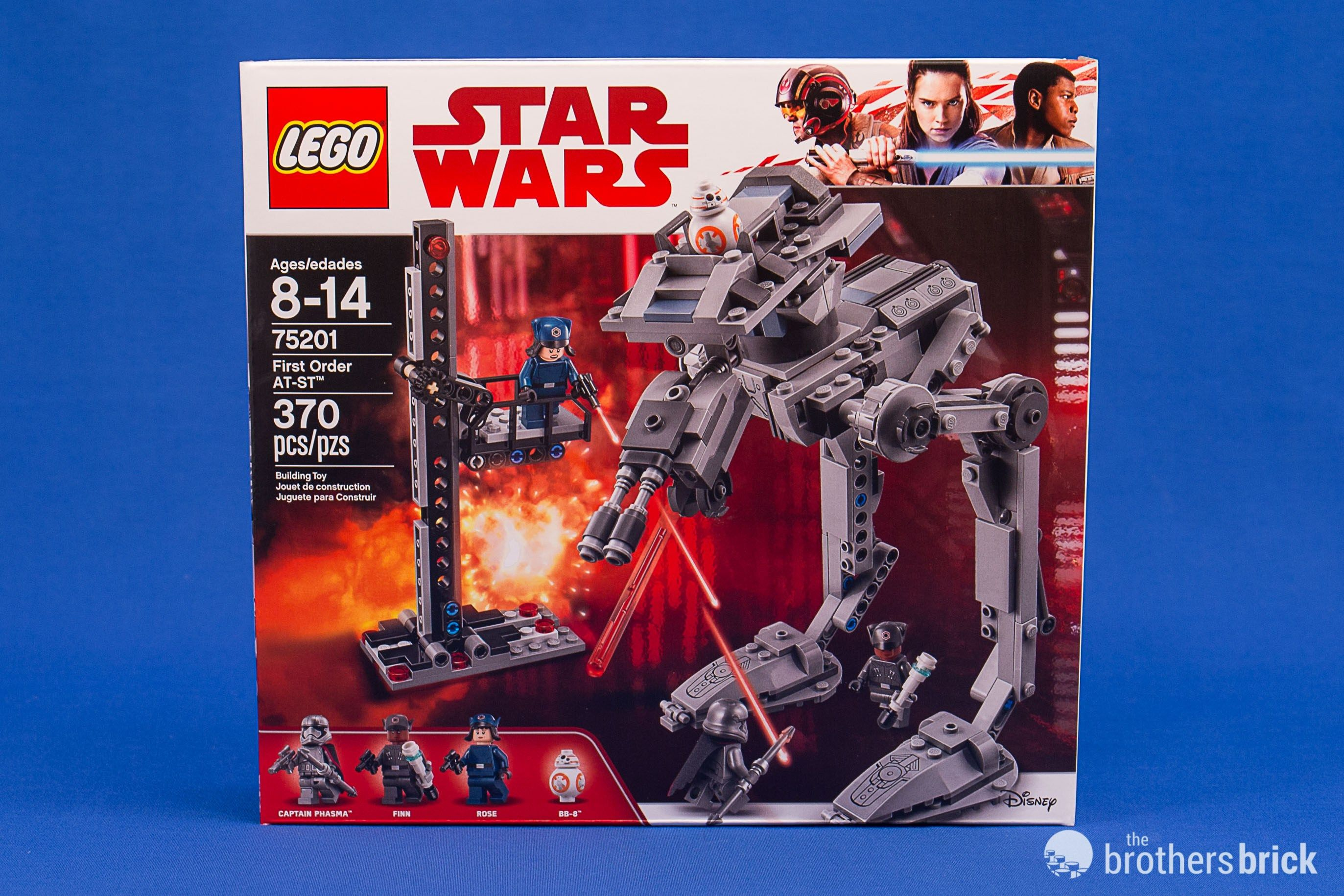 Lego Star Wars 75201 First Order At St Reveals The Last Jedi