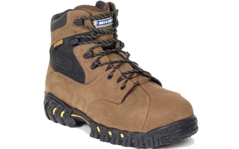 The Michelin Pilot Exalto Is A 6 Inch Met Guard Boot With The Pilot Exalto Outsole Provide Maximum Durability And Slip Res Boots Steel Toe Boots Work Boots