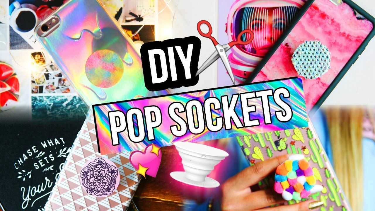 Diy Popsockets For Your Phone Diy Diy Phone Case Diy Pop