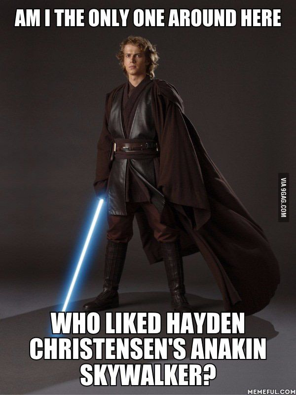 Feeling Excited After Hearing Rumors Of His Possible Return In Episode 8 Although How Would He Return Clone Flashback Jedi Ghost Star Wars Anakin Star Wars Memes Star Wars Fandom