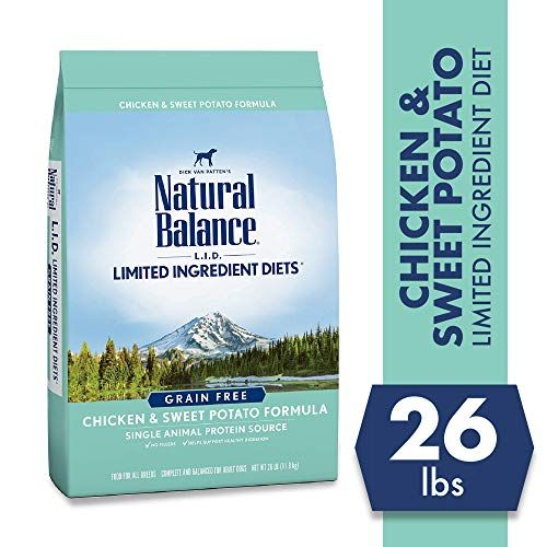 Natural Balance Limited Ingredient Diets Chicken  Sweet Potato Formula Dry Dog Food 26 P