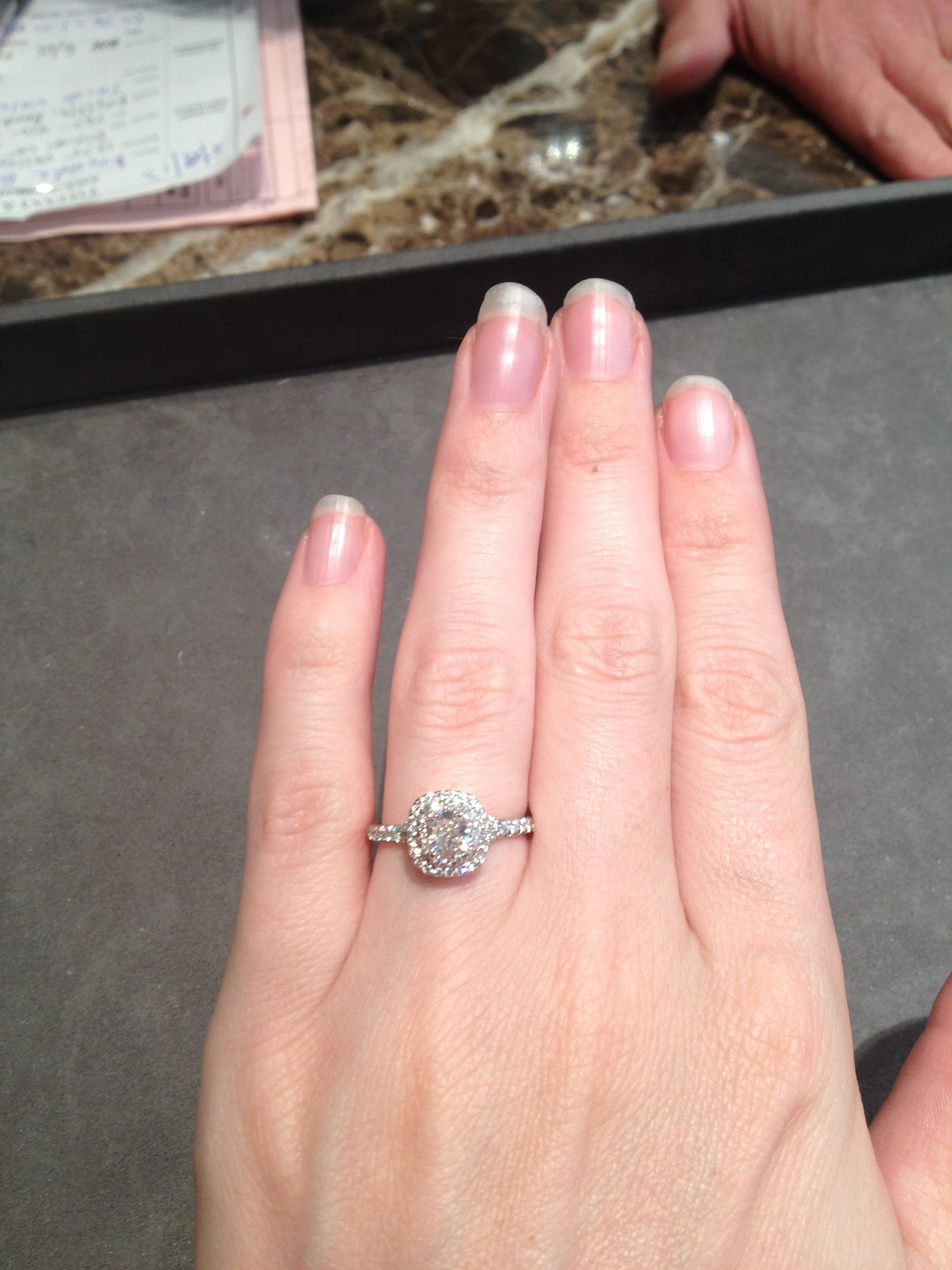 Tiffany Soleste. .53 carat E/VS1 Plantinum | WEDDING | Pinterest ...