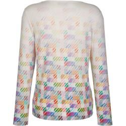 Amy Vermont, Shirt im allover Druck, multicolor Amy Vermont