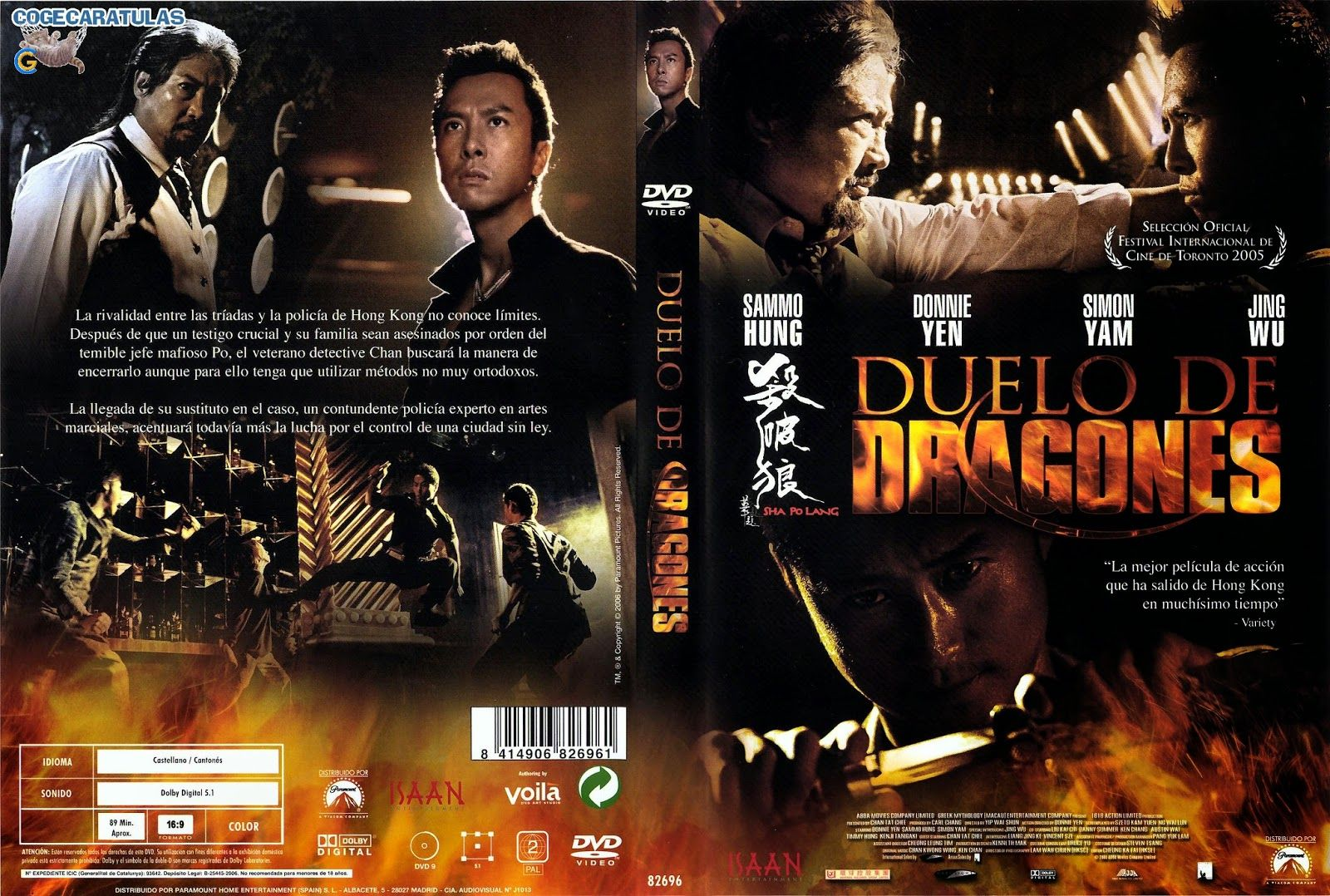 """DUELO DE DRAGONES"" (2005) ♣ Ver Online: https://www.youtube.com/watch?v=4X7rM8g-fkY"