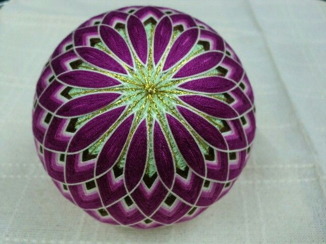 Purple & Green Tamari Ball