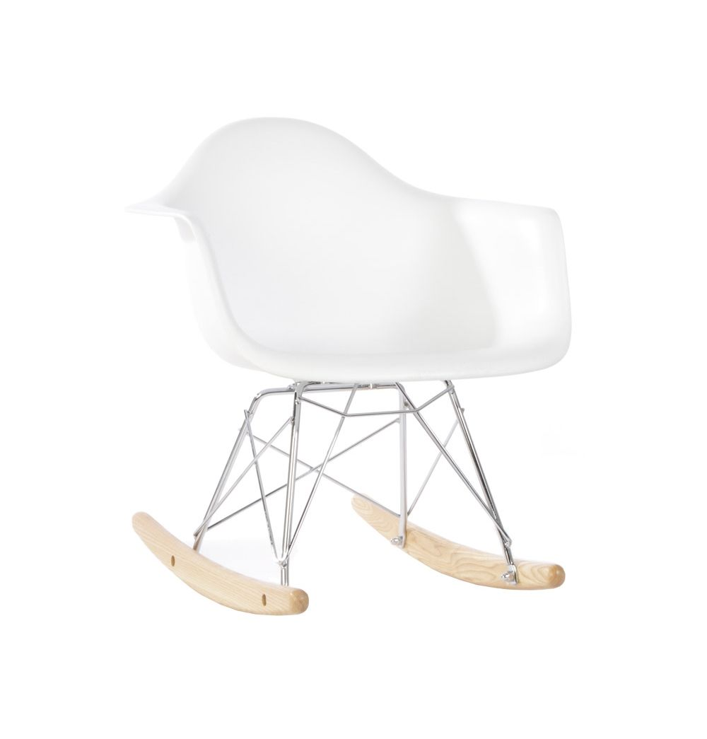 Stupendous Replica Eames Plastic Rar Kids Rocker Chair By Charles And Gmtry Best Dining Table And Chair Ideas Images Gmtryco