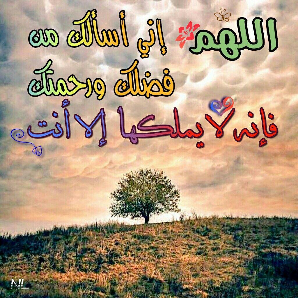 اللهم إني أسألك من فضلك ورحمتك فإنه لا يملكها إلا أنت Islam Hadith Dua In Arabic Hadith