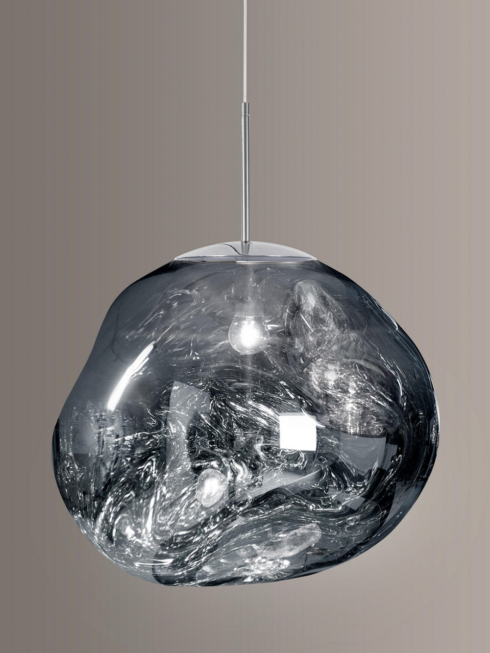 Tom Dixon Melt Pendant Ceiling Light Chrome In 2020 Tom Dixon Melt Ceiling Lights Blown Glass Pendant Light