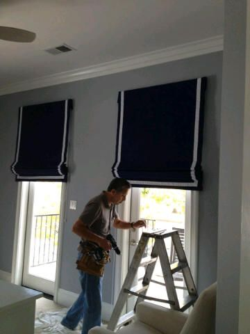 how to make roman shades outside mount