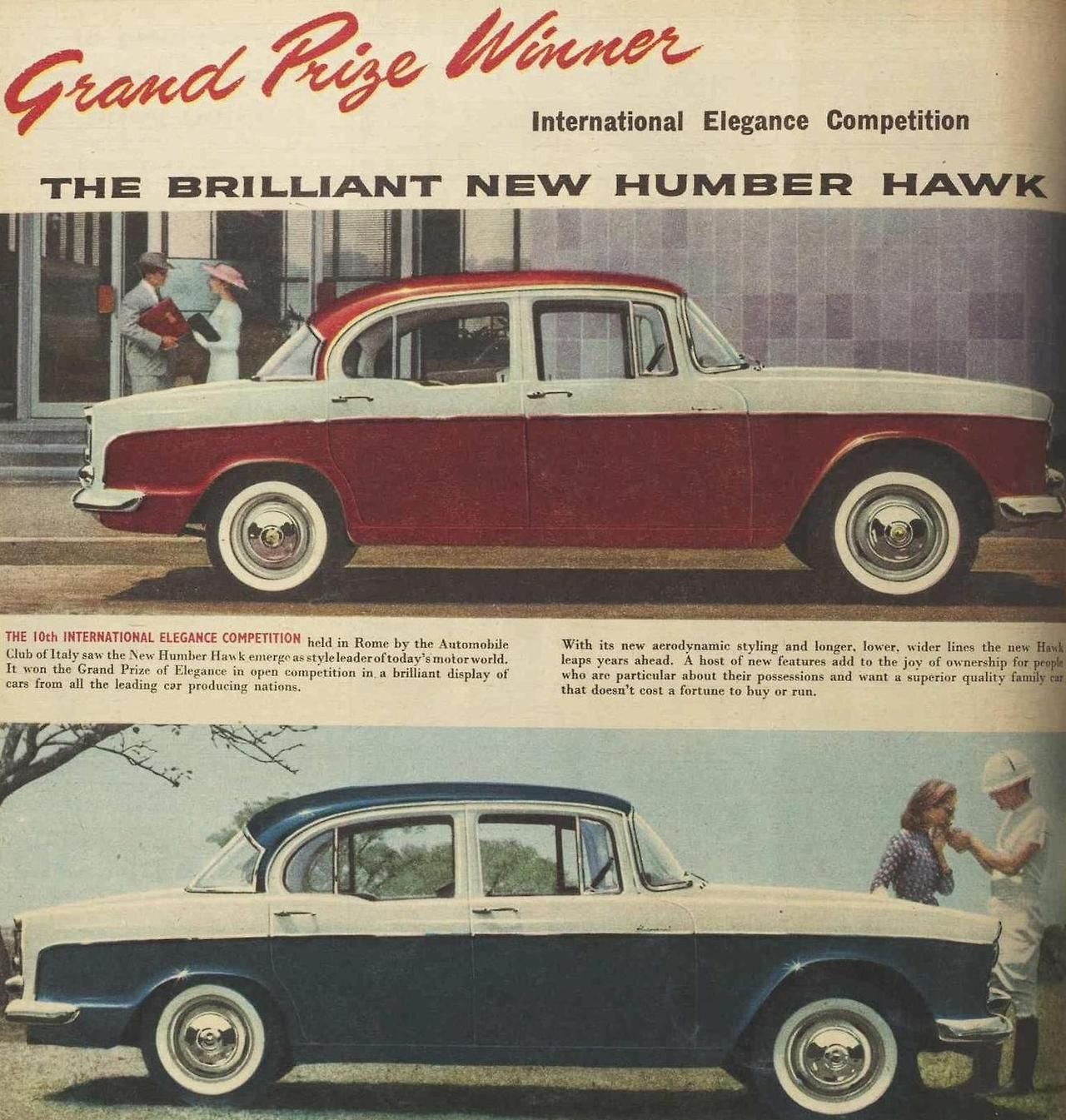 Humber Hawk, 1958 | Vintage and Classic Cars | Pinterest | Baking ...