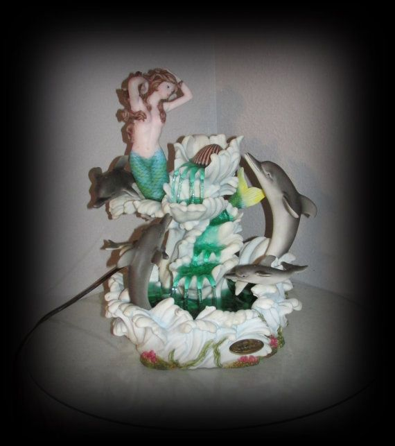 DeCapoli table top fountain Dolphins by ChristinaireDesigns, $398.00