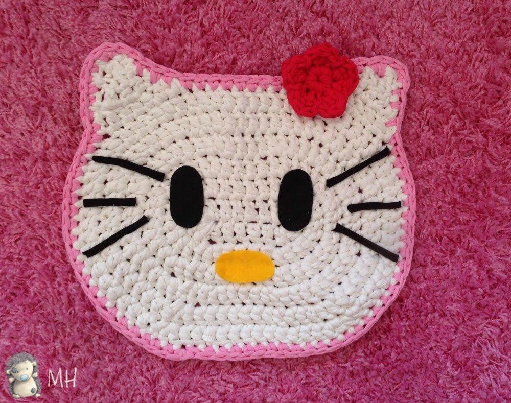 Pin de María Cegri en Crochet   Pinterest   Alfombras de trapo ...
