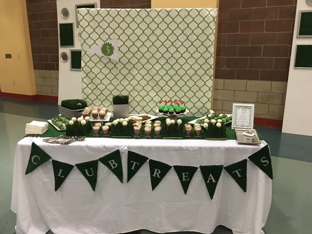 Remarkable Golf Theme Dessert Table By Sprinkles And Sweets Home Interior And Landscaping Pimpapssignezvosmurscom