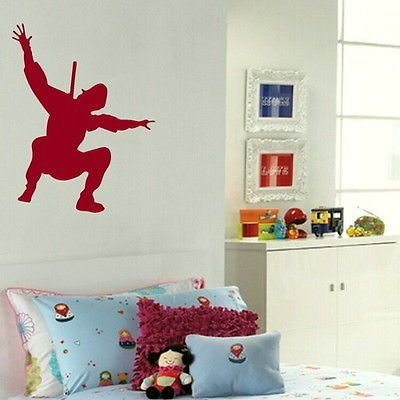 Ninja Boys Wall Decal Wall Transfer Bedroom Art Vinly Wall ...