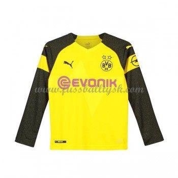 Kinder Fussball Trikot BVB Borussia Dortmund 2018 19 Heim T