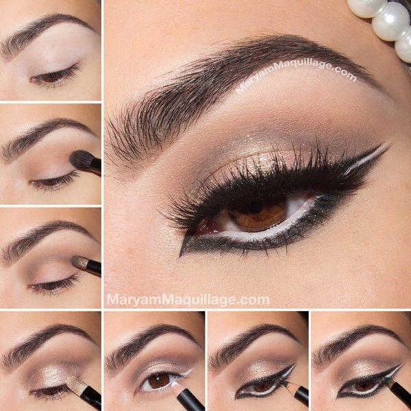 صور مكياج عيون بالخطوات Eye Makeup Found On Polyvore Arabian Makeup Arabic Makeup Tutorial Eye Makeup Tutorial
