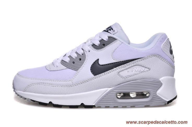 Nike Air Max 90 Bianco Gray scarpe da calcio online