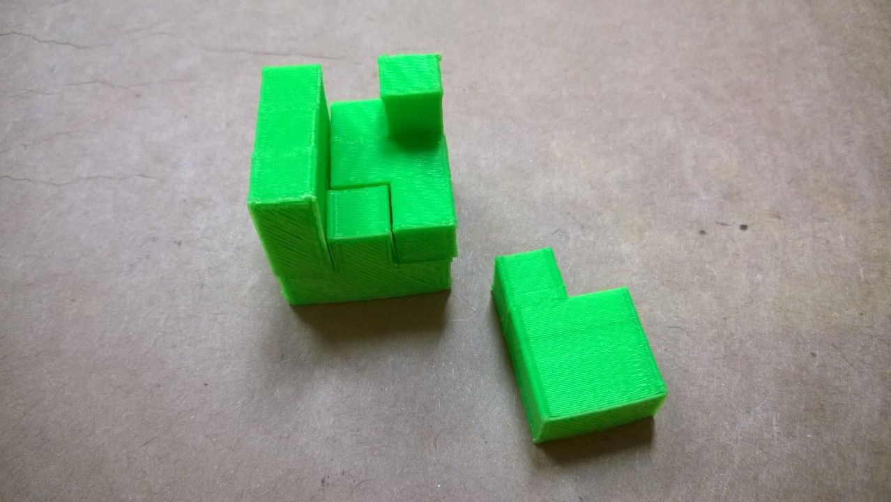 3D Printed Cube Assembly Projects for kids, 3d printing