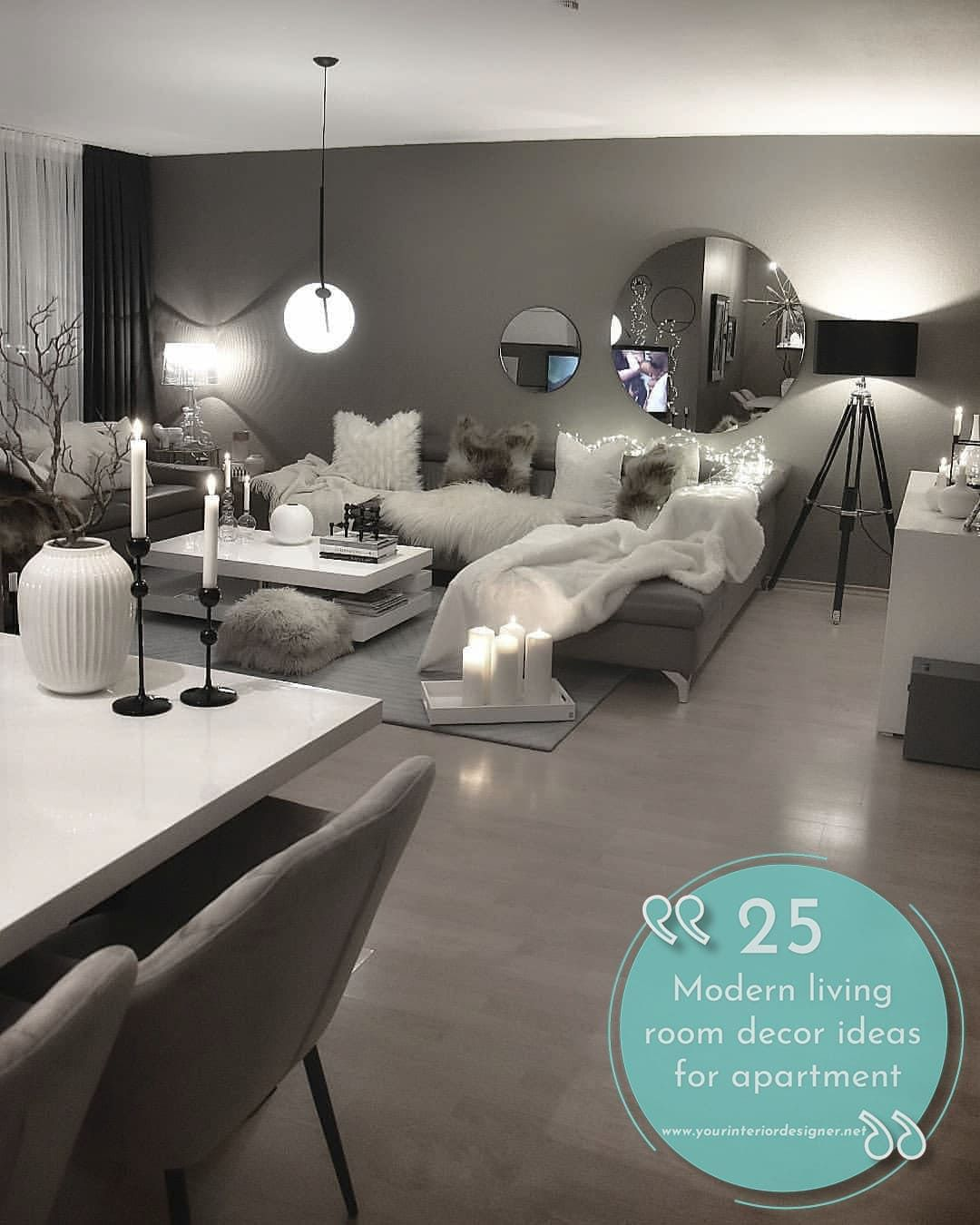 We have created a gallery of 32 pictures that show you how modern residents of different countries decorate their living rooms. Furniture, lighting systems, tables and other accessories created with these lounge rooms we aimed to inspire you. If you are thinking of renovating your living room, you should look at these pictures.