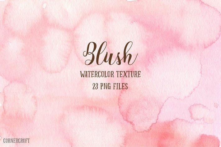 Watercolor Texture Blush By Cornercroft Watercolor Texture