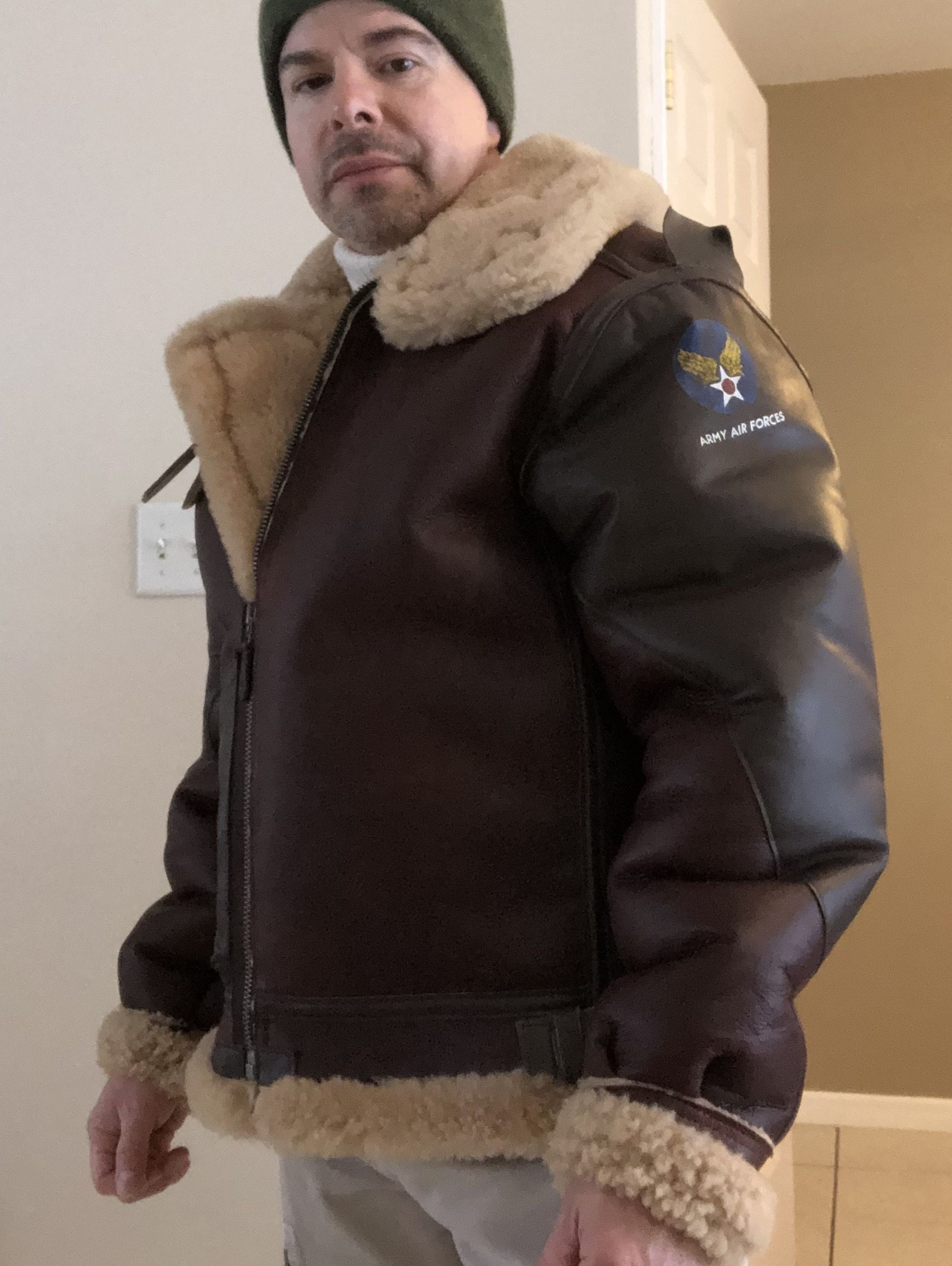 Pin by Sheepskin boy on Sheepskin coats in 2020 Jackets