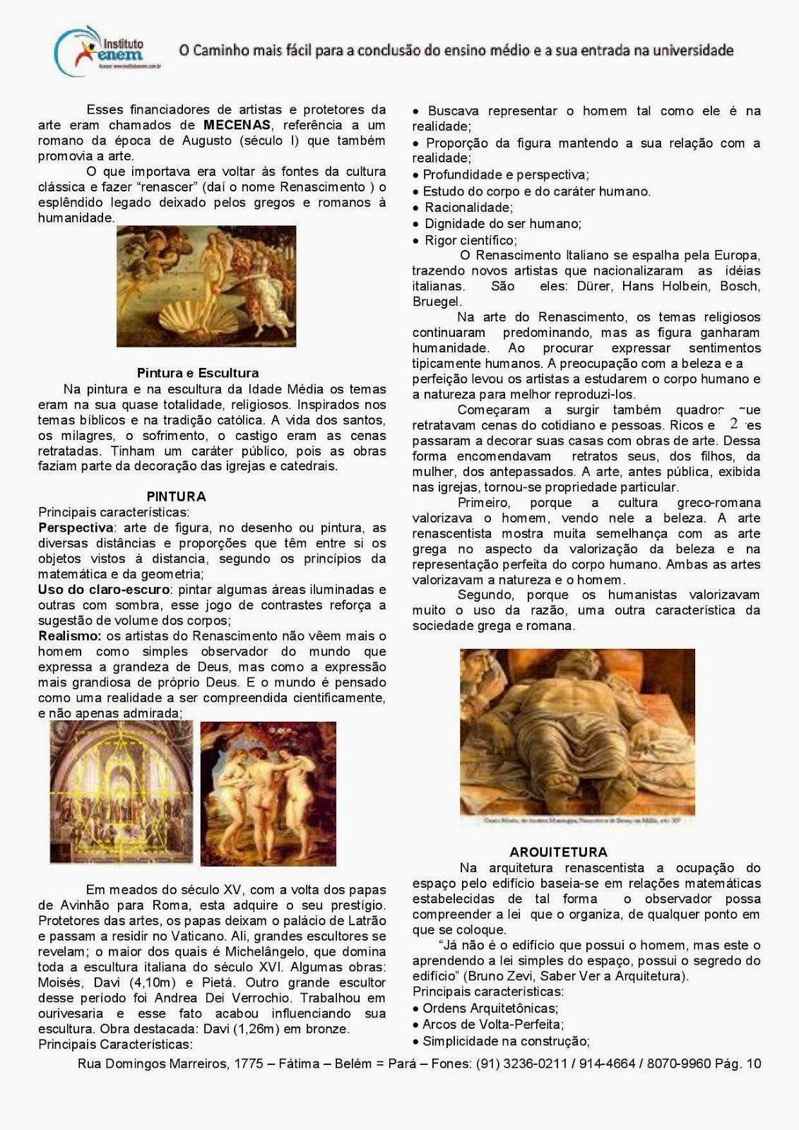 Artes Visuais Teatro E Musica Ensino Medio 40 Atividades Imagens