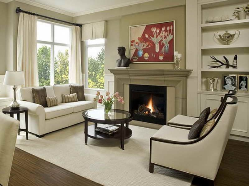 Living Room Layout Fireplace