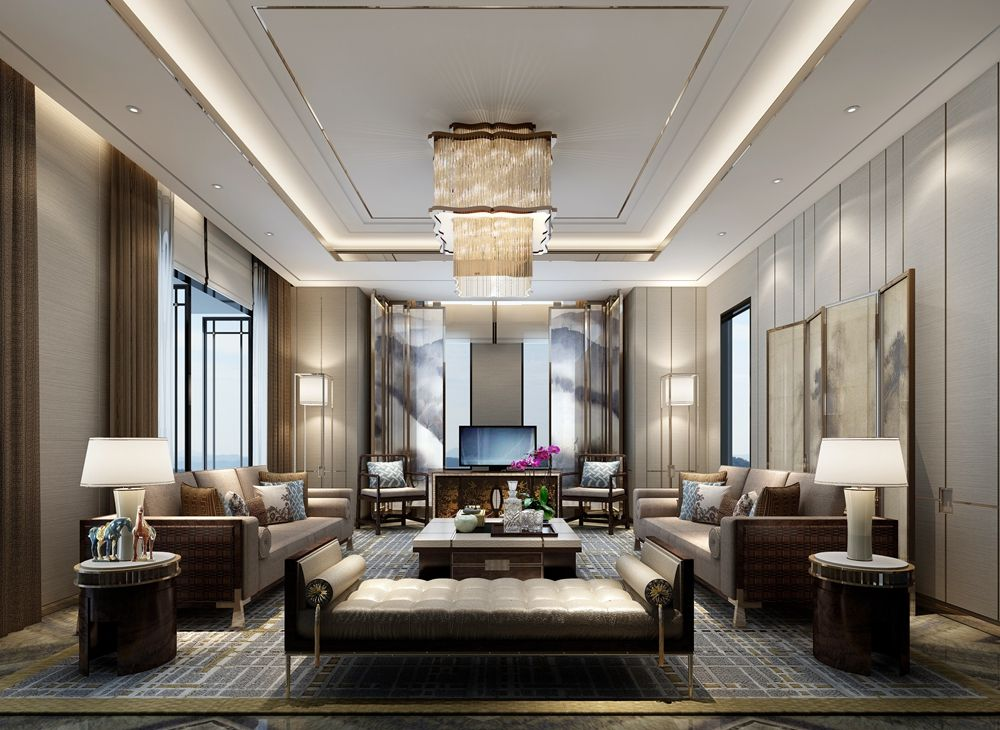 Modern Furniture 2013 Luxury Living Room Curtains Designs: Luxury Interior Design Projects - Koket