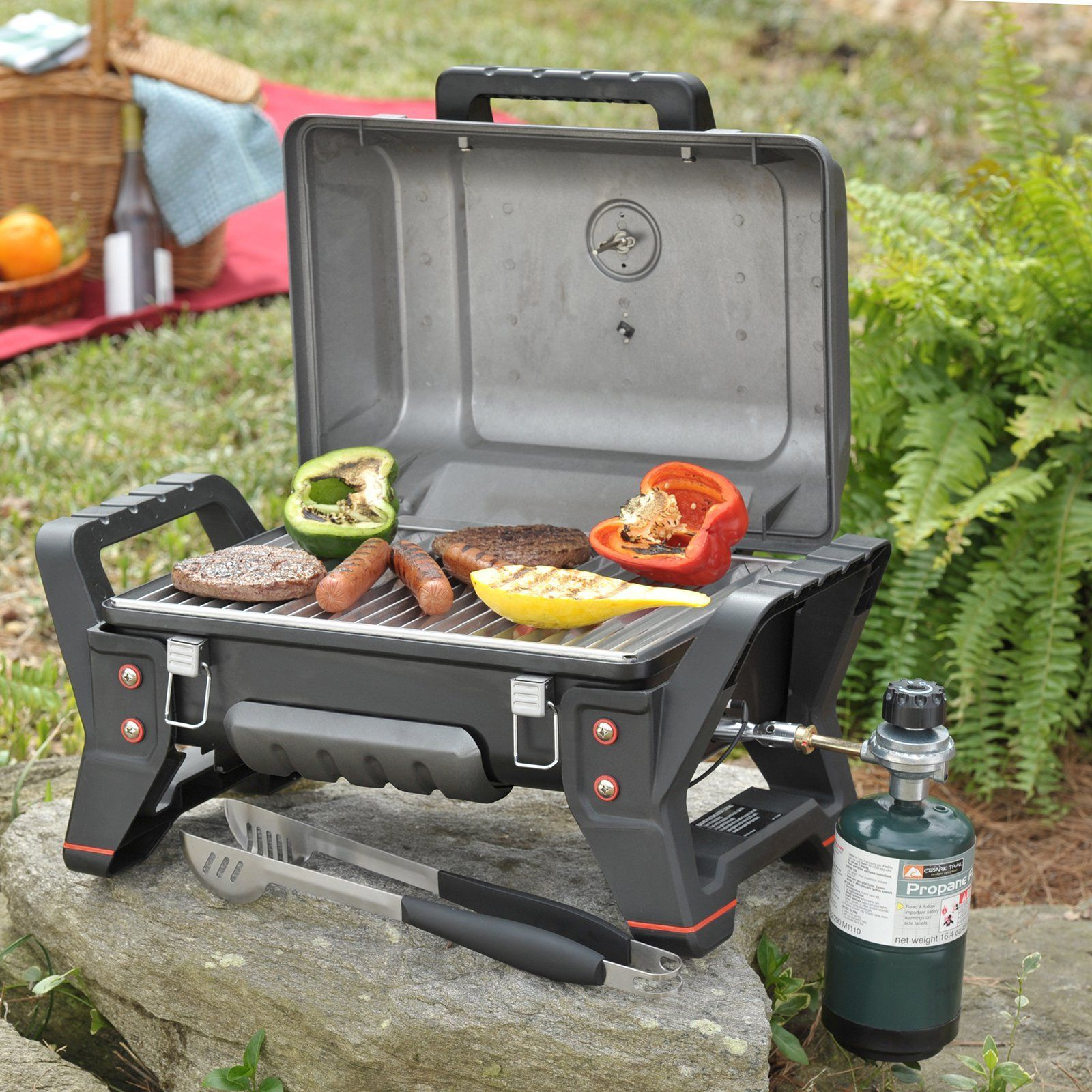 Delightful Char Broil TRU Infrared Grill2Go X200 Portable Gas Tabletop Grill   12401734