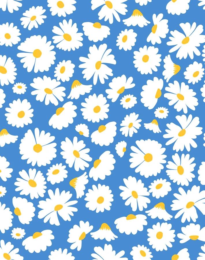 Pop Daisy - Cerulean
