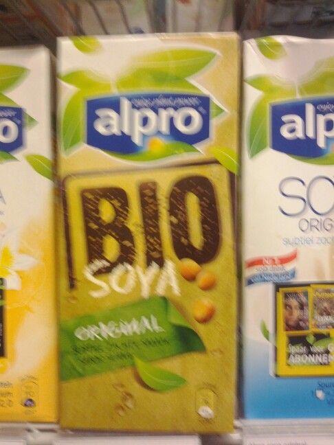 Biologische sojamelk Trend: Bewuste keuze goederen