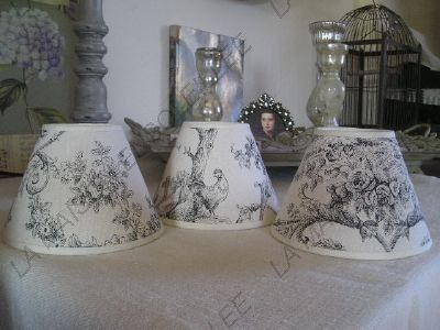 creation abat jour applique lustre tissu toile de jouy idee lampade pinterest toile. Black Bedroom Furniture Sets. Home Design Ideas